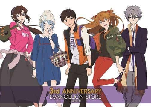 Evangelion Store 3rd anniv