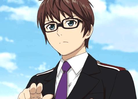 10 Karakter Anime Cowok Keren Berkacamata Gwigwi