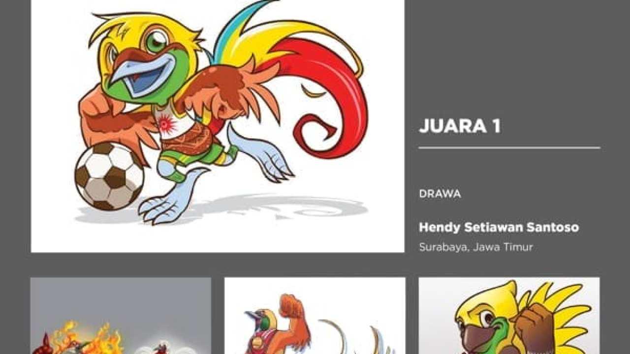 Kreavi Challenge RE DRAW A MASCOT Maskot Usulan Asian