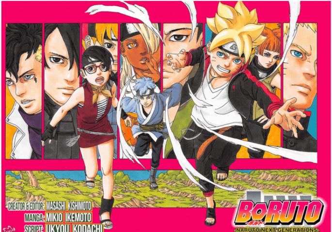 Chapter 1 Manga Boruto Bocor, Naruto mati?