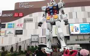 Bandai akan tutup patung Gundam ukuran nyata yang berada di…