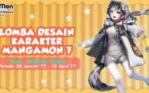 Lomba Desain Karakter Manga-Mon ke-7 telah dibuka!