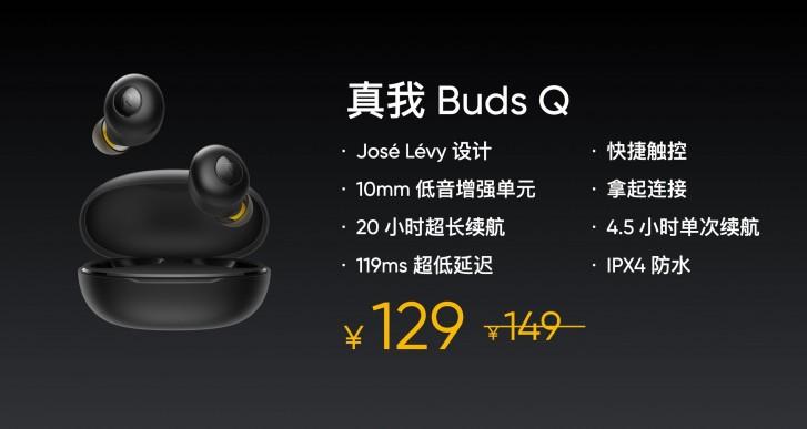 Realme meluncurkan Buds Q, Buds Air Neo dan dua bank daya