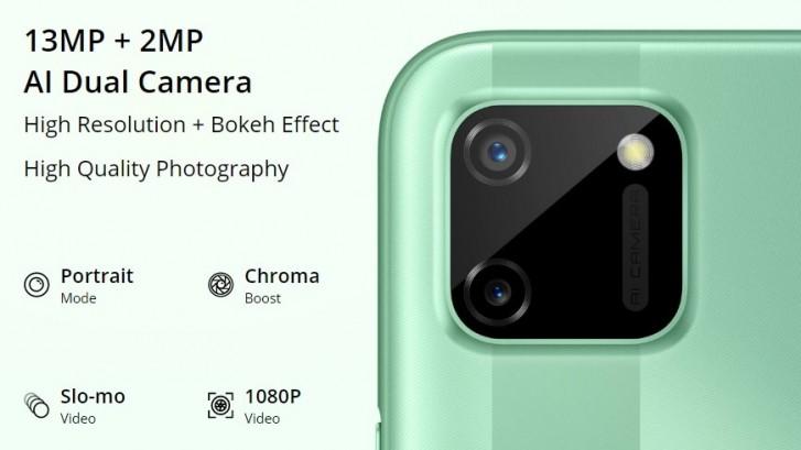 Realme C11 resmi: Helio G35 SoC, kamera belakang ganda, dan baterai 5.000 mAh