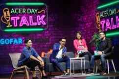 Foto 5 - Acer Day Talks (Kiri - Kanan) Tarra Budiman, Gofar Hilman, Tatha Yank, Michael Christian