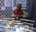 Gwlad's - Créatrice de bracelets en cuir, Salon des Loisirs Créatifs 2013
