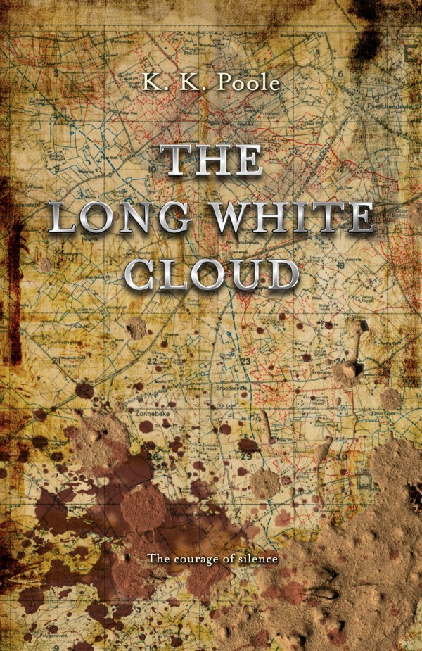 The Long White Cloud by K. K. Poole front cover image.