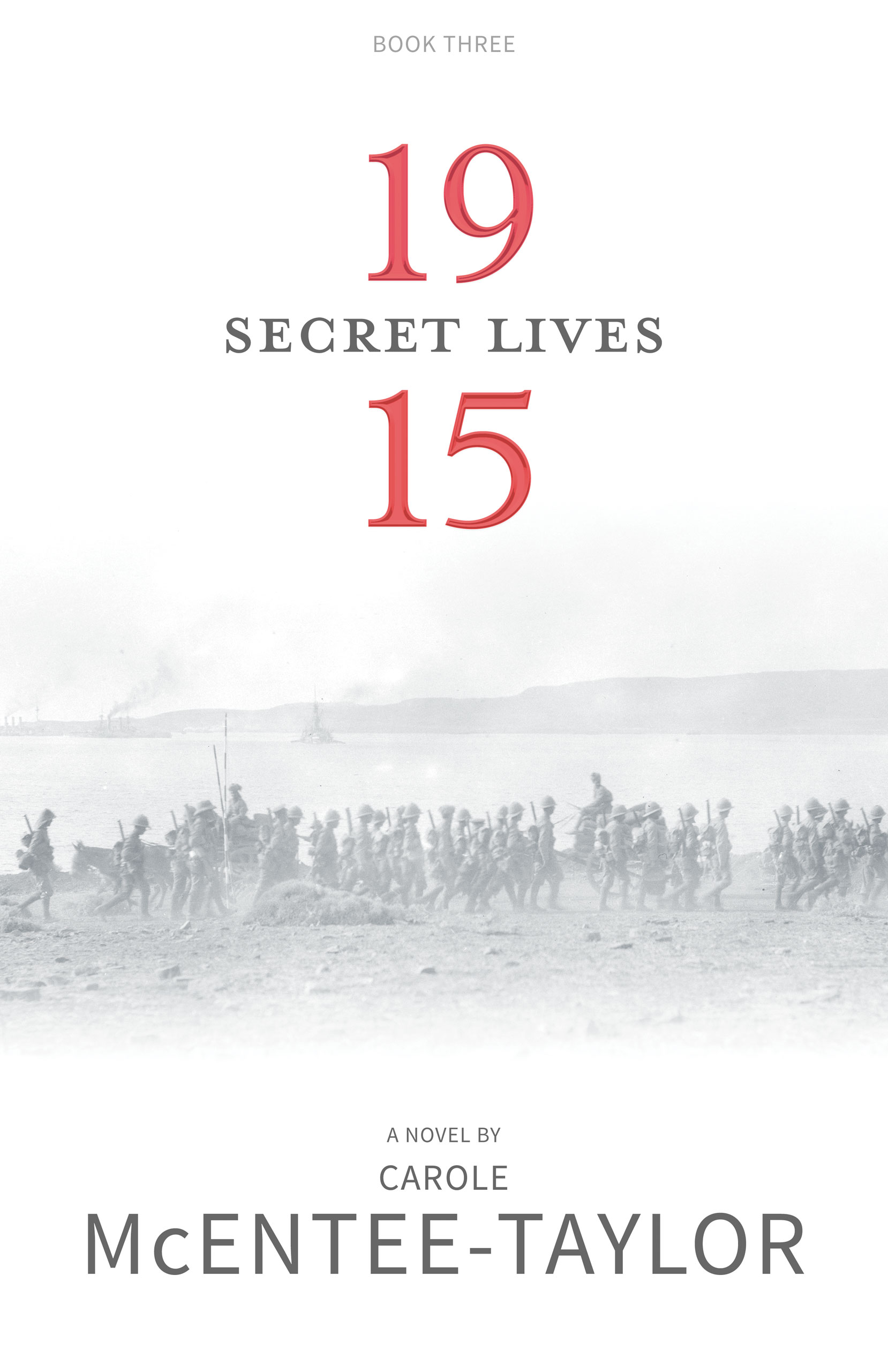 Secret Lives - 1915 Book Three by Carole McEntee-Taylor cover image.