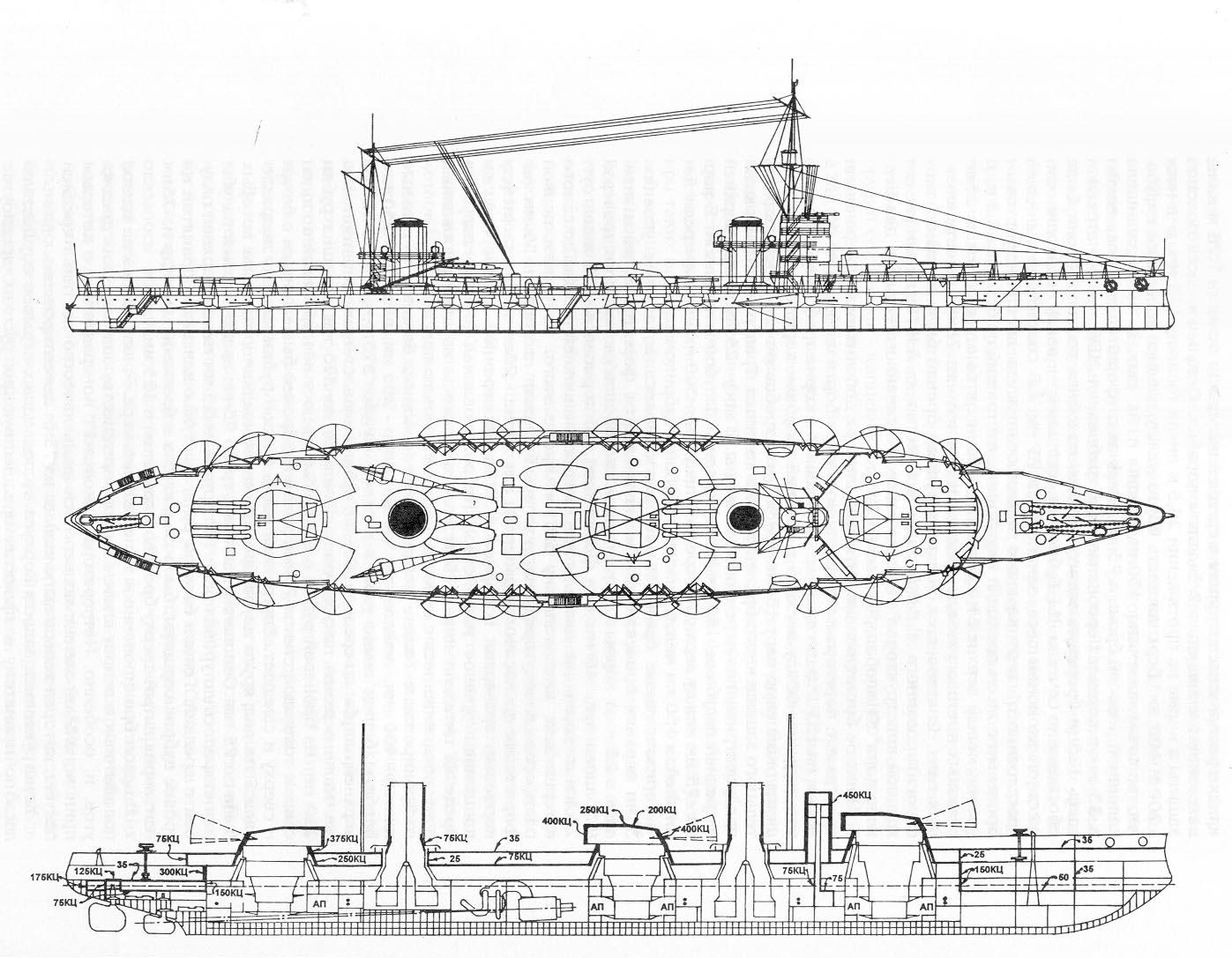 Tsarist Battleship Stu S