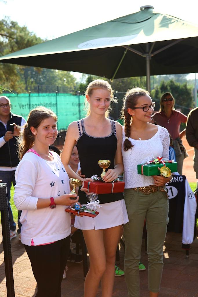Die Sieger bei den Mädchen U16