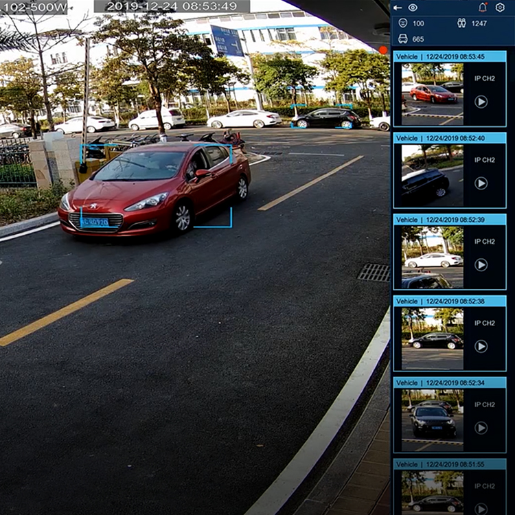Vehicle Detection NVR