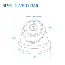 6077MIC dimensions