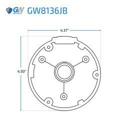 GW8136JB dimensions