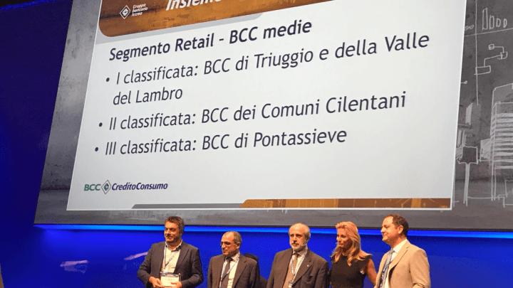 La BCC dei Comuni Cilentani premiata per le buone prassi verso i clienti.