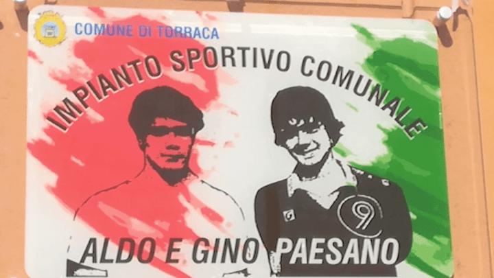 Torraca, campo sportivo intitolato ai fratelli Paesano