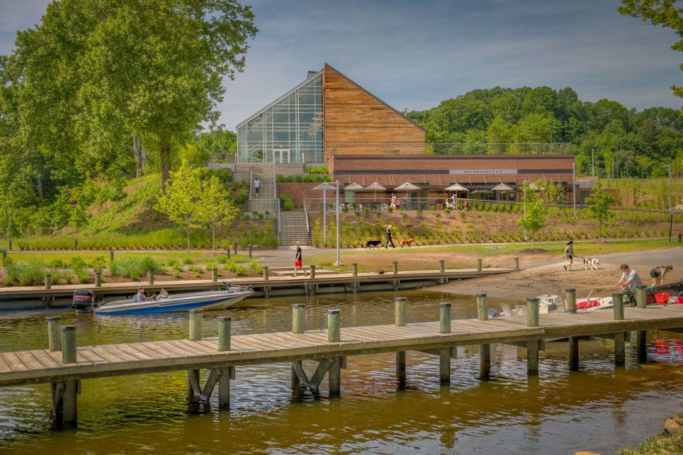 GWWO Architects | Projects | Jean R. Packard Occoquan Center