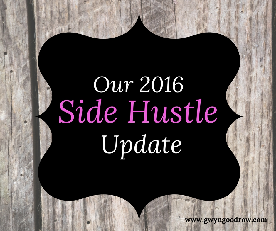 2016 Side Hustle Income