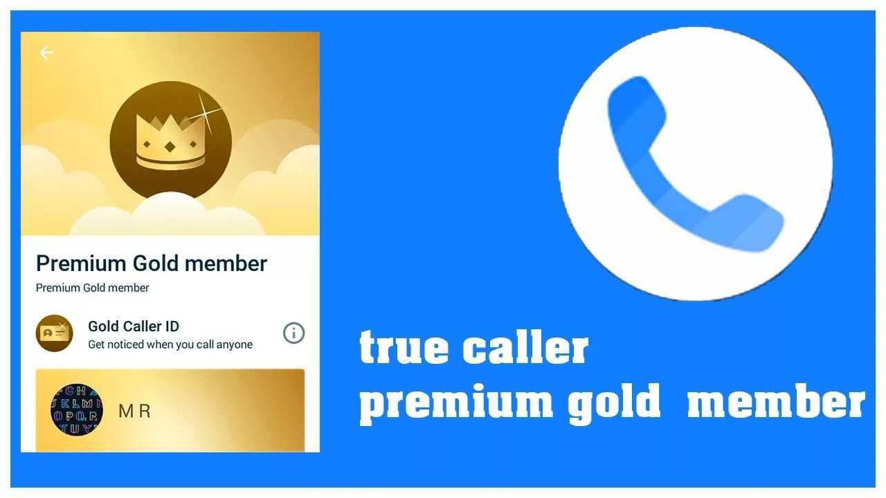 True caller premium gold