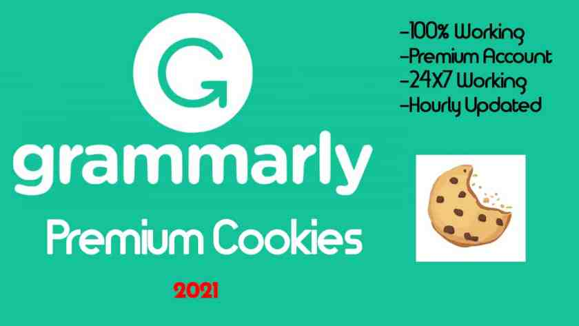 Grammarly Premium Account Cookies