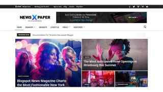 Blogger Newspaper 9 Premium