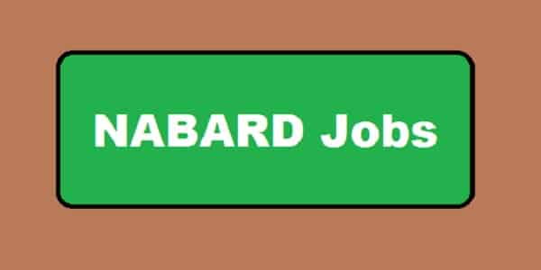 NABARD Manager Recruitment
