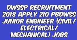 DWSSP Recruitment