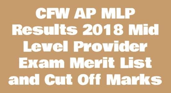 CFW AP MLP Results