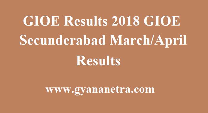 GIOE Results