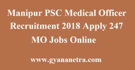 Manipur PSC Medical Officer Recruitment