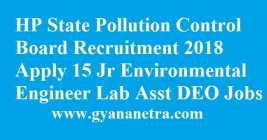 HP State Pollution Control Board Recruitment