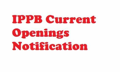 IPPB Recruitment 2018