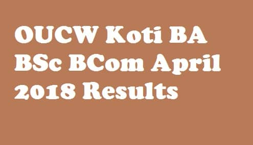 OUCW Koti Results 2018