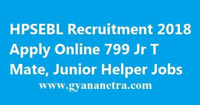 HPSEBL Recruitment