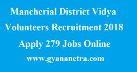 Mancherial District Vidya Volunteers Recruitment