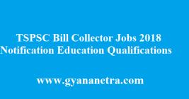 TSPSC Bill Collector Recruitment 2018