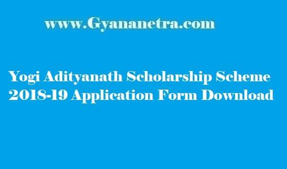 Yogi Adityanath Scholarship Scheme 2018-19