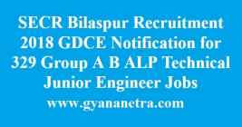 SECR Bilaspur Recruitment