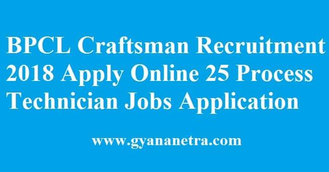 BPCL Craftsman Recruitment