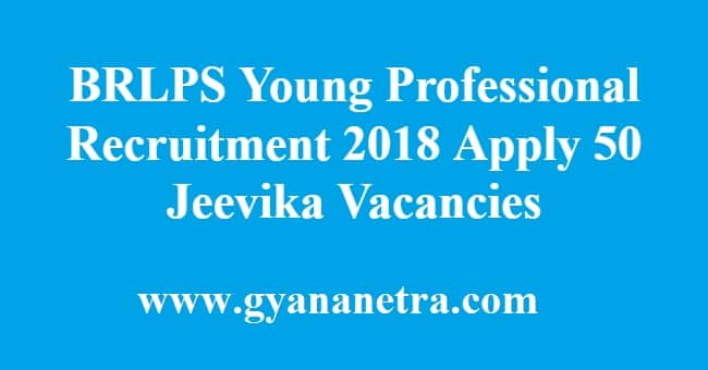 BRLPS Young Professional Recruitment