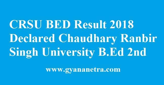 CRSU BED Result