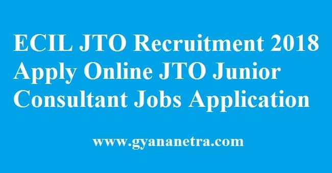 ECIL JTO Recruitment