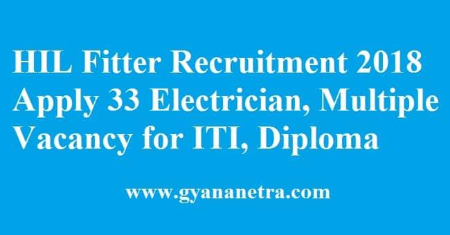 HIL Fitter Recruitment