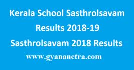 Kerala School Sasthrolsavam Results