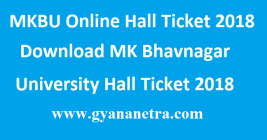 MKBU Online Hall Ticket 2018