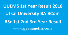 UUEMS 1st Year Result 2018