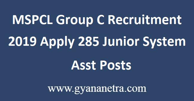 MSPCL-Group-C-Recruitment-2019