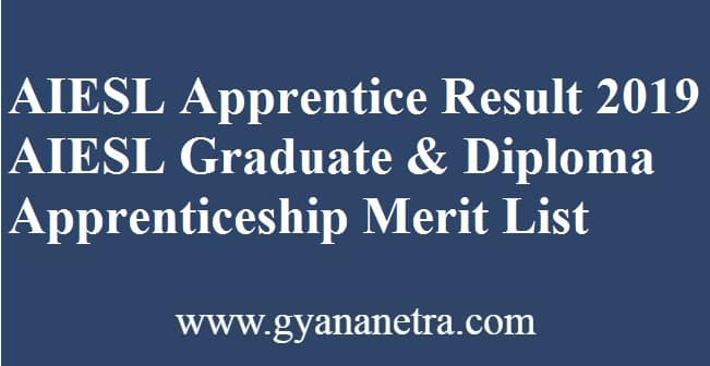 AIESL Apprentice Result
