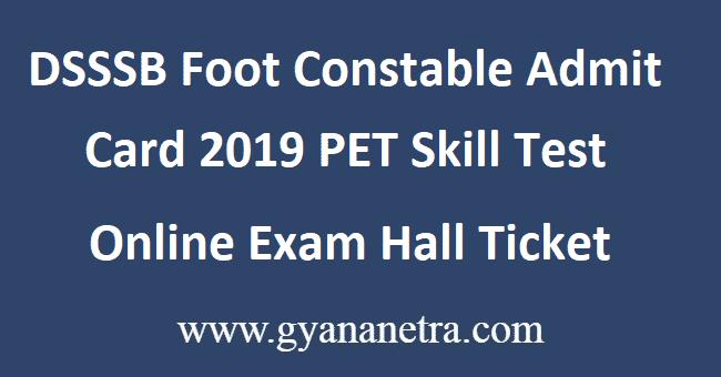 DSSSB-Foot-Constable-Admit-Card-2019