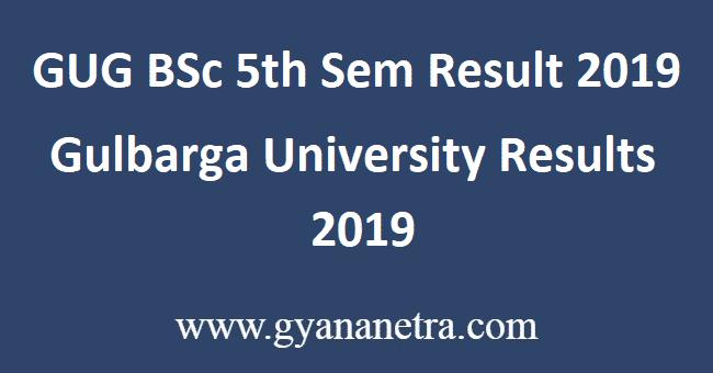 GUG-BSc-5th-Sem-Result