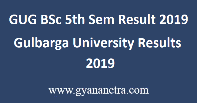 GUG-BSc-5th-Sem-Result